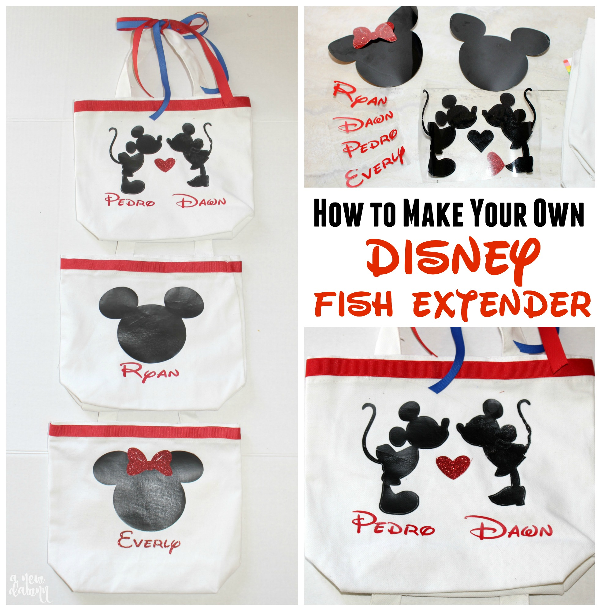 How To Make Disney Fish Extender