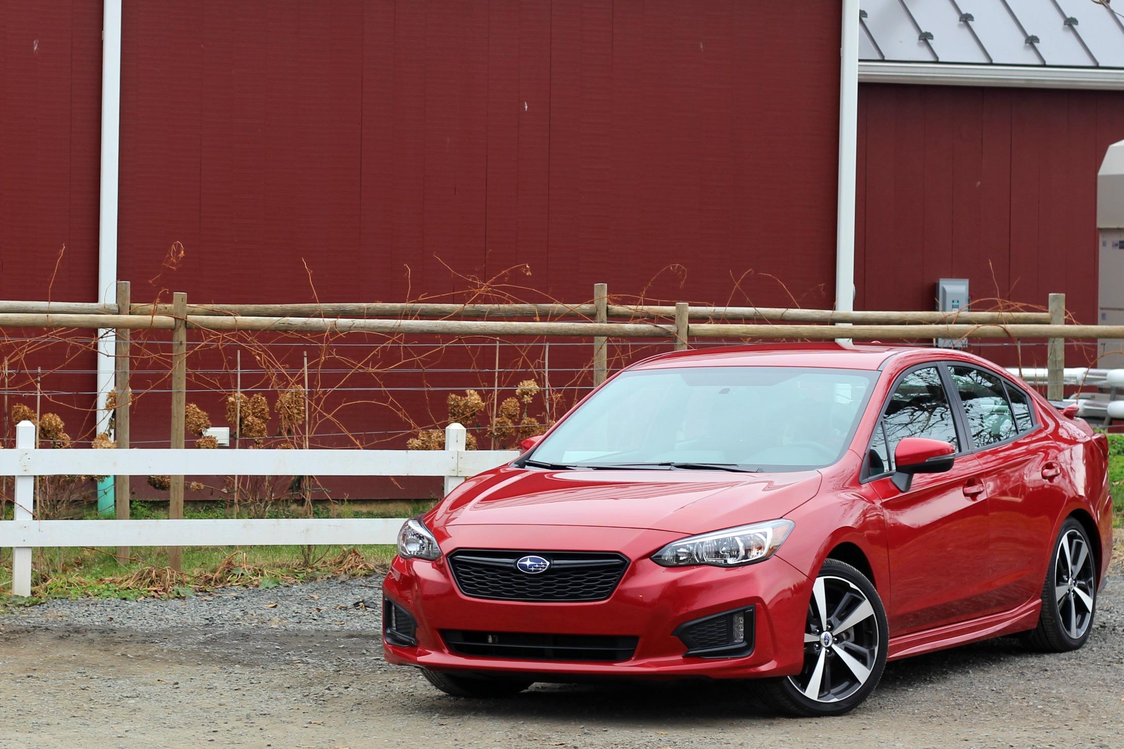 Subaru Impreza Sport Sedan compact AWD sedan